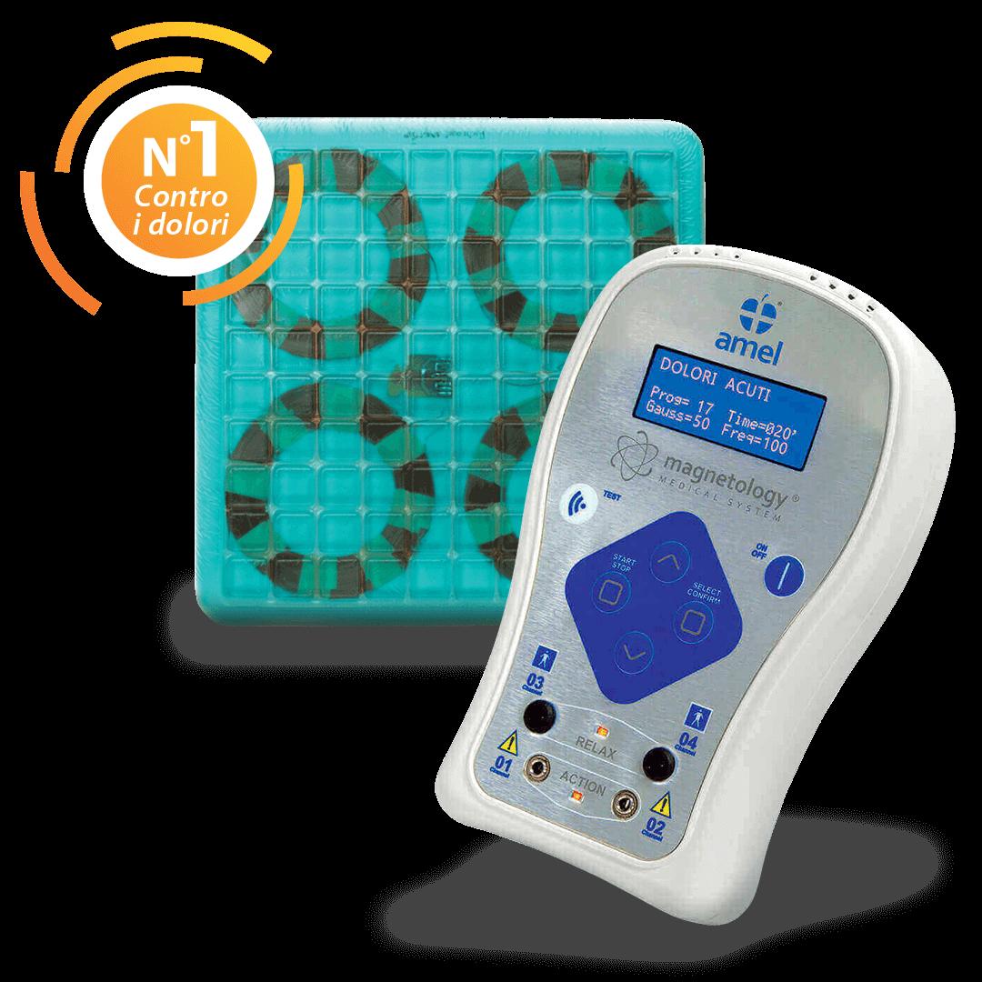 Magnetology® Medical System è il sistema di magnetoterapia professionale sviluppato da Amel Medical.